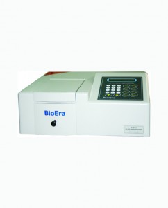 Single Beam UV-Vis Spectrophotometer with Software